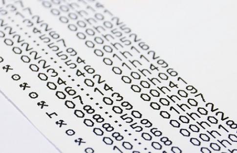Tachograph print out